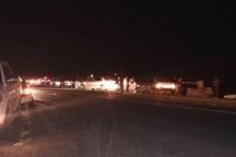 تصادف در محور روانسر - کرمانشاه 2 مصدوم برجای گذاشت