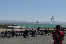 ششمین جشنواره پرواز نمایشی در بیرجند برگزار شد