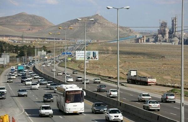 ثبت بیش از 22 میلیون  تردد در محورهای مواصلاتی استان قزوین
