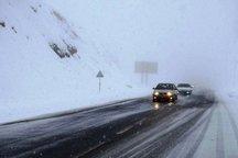 کولاک شدید 2 جاده اصلی را در استان زنجان بست