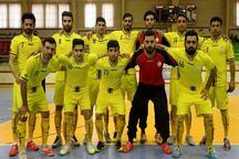 تیم فوتسال ملی حفاری به مرحله پلی آف لیگ برتر صعود کرد