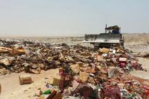 بیش از 35 میلیون کالای غیراستاندارد در سروآباد معدوم شد