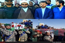 آیین تشییع و خاکسپاری هشتمین شهید مدافع حرم دزفول برگزار شد+ تصاویر