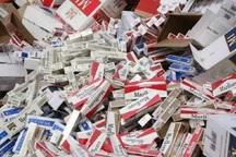 100هزار نخ سیگار قاچاق در کرمانشاه کشف شد