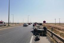 واژگونی خودرو در قوچان سه مصدوم بر جای گذاشت