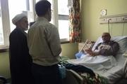عبدالله نوری به عیادت حسین مرعشی رفت