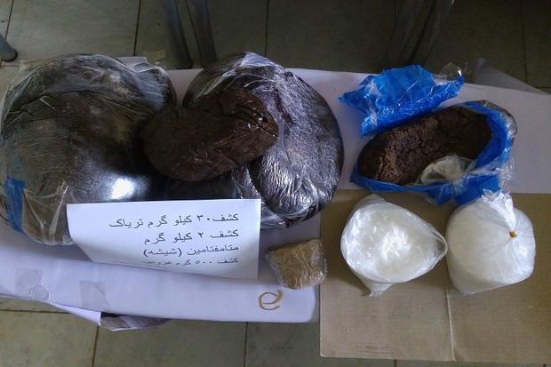 32.5 کیلوگرم مواد مخدر در مشگین شهر کشف شد
