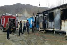 دانش آموزان در آتش سوزی مدرسه کانکسی خوی آسیب ندیدند