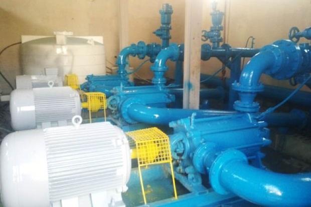 12 لیتر بر ظرفیت آب شهر تالش افزوده شد