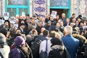 فرمانداری مجوز تشییع همسر شریعتی از حسینیه ارشاد را داده بود