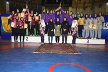 تیم کشتی بانوان خراسان رضوی عنوان سوم کشور را کسب کرد