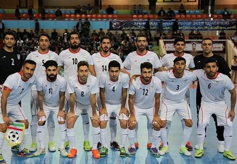 پیروزی 6 گله تیم ملی فوتسال ایران مقابل رقیب اروپایی