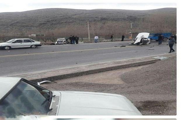 نوروز امسال 6 نفر بر اثر تصادف در جاده های ماکو جان باختند