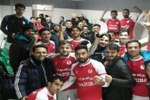 شهرداری همدان دور برگشت لیگ 2 را با برد آغاز کرد