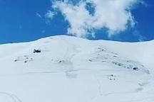 سقوط بهمن در پیست اسکی فریدونشهر تلفات جانی نداشت