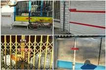 پلمب واحدهای صنفی ورامین توسط شهرداری با اعتراض کسبه همراه شد