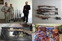 دستگیری 12 شکارچی غیرمجاز در استان مرکزی برخورد قاطع با متخلفان