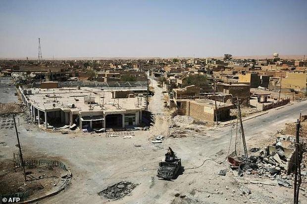 گزارش میدانی خبرگزاری فرانسه از حومه تلعفر