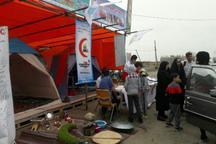 19 هزار و 490  مسافر نوروزی از خدمات هلال احمر استان اردبیل بهره مند شدند