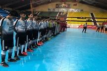 صعود رویایى نماینده فوتسال قم به دور نهایی لیگ برتر نوجوانان