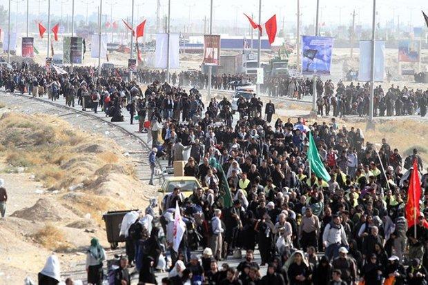 تردد زائران از مرز مهران به عراق 42 درصد افزایش یافت