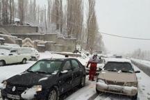 محور وازک به بلده در مازندران مسدود است