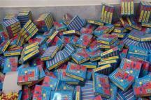 19 هزار عدد مواد محترقه در مرند کشف شد