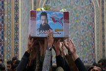 پیکر 'حُر' شهدای مدافع حرم در وطن آرام گرفت