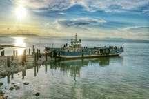 کاهش 7 سانتی متری تراز دریاچه ارومیه در فصل گرما طبیعی است