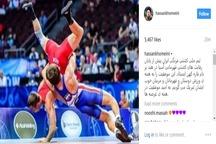 تبریک سید حسن خمینی برای موفقیت تیم ملی کشتی فرنگی ایران