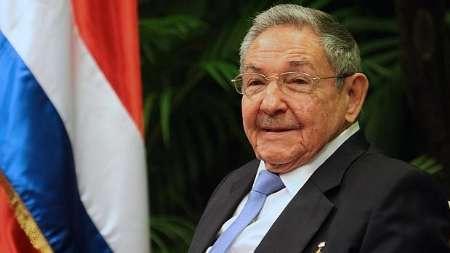 رائول کاسترو انتخاب مجدد دکتر روحانی را تبریک گفت