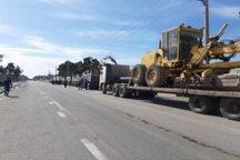 32 دستگاه ماشین آلات شهرداری تهران در خوزستان مستقر شده است