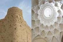 چهارسوق بازار خان و قلعه تاریخی خویدک یزد مرمت و بازسازی شد