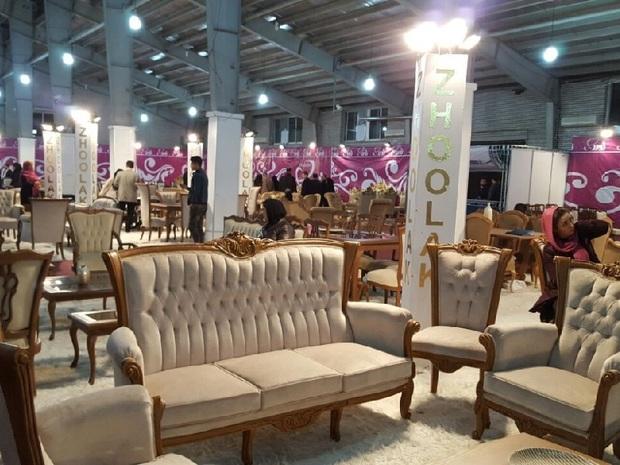 نمایشگاه مبلمان و مصنوعات چوبی در بجنورد گشایش یافت