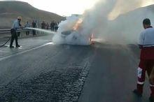 حادثه رانندگی در جاده پلدختر - اندیمشک یک کشته و یک مجروح برجا گذاشت