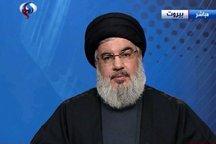 سید حسن نصرالله: نقش ایران و آیت الله سیستانی در پیروزی موصل مهم بود