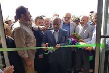افتتاح 2 طرح عمرانی با حضور معاون اقتصادی رئیس جمهوری در دانشگاه زابل