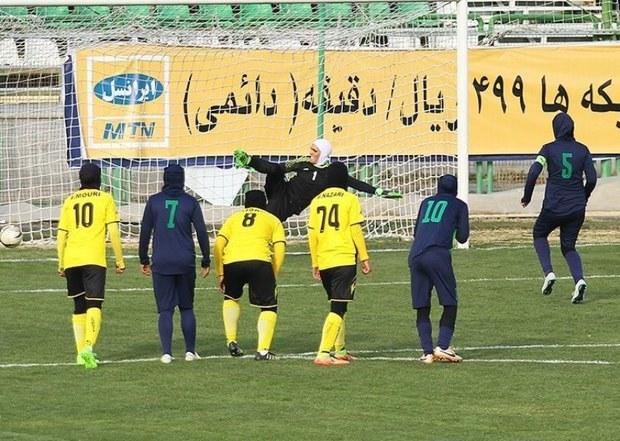 چهارمین برد بانوان پالایش گاز ایلام برابر خلیج فارس شیراز کسب شد