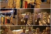 بازدید فرماندار دشت آزادگان از روند خدمترسانی به زائران اربعین