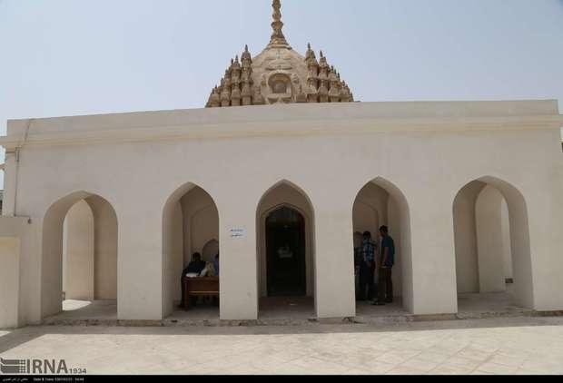 معبد هندوها بندرعباس و مرمتی نیمه کاره