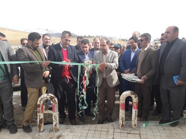اولین پارک شهر فیروزآباد سلسله به بهره برداری رسید