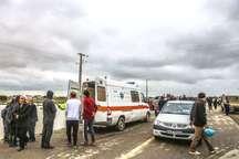 حادثه دیدگان قایق در گمیشان به مراکز درمانی منتقل شدند