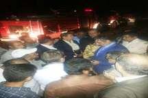 آتش در  جنگل های خسرج حمیدیه استان خوزستان مهار شد