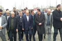 وزیر ورزش و جوانان وارد مازندران شد