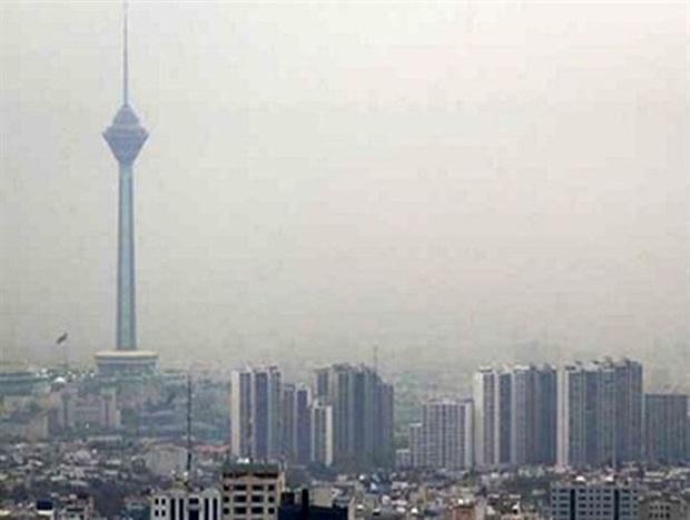 آلودگی هوای پایتخت روز سه شنبه افزایش می یابد