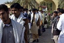 45 دانش آموز دلگانی به مناطق عملیاتی جنوب اعزام شدند