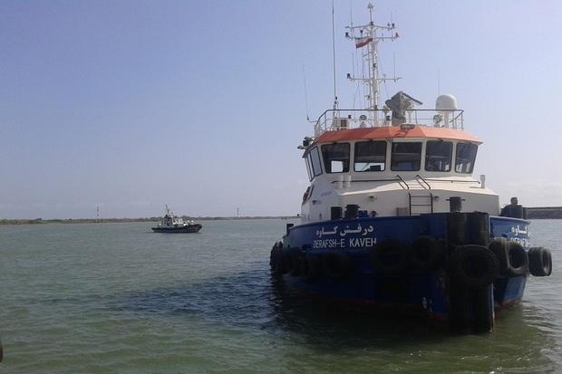 رزمایش مهار آلودگی نفتی دریا در آستارا برگزار شد