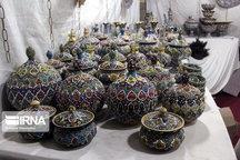 دومین نمایشگاه منطقهای صنایع دستی در سمنان برپا شد