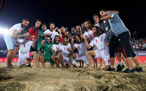 ویدیوی قهرمانی تیم ملی فوتبال ساحلی ایران در جام بین قاره ای