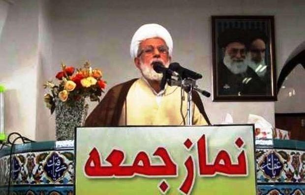 امامجمعه نوشهر: تنها راه ما در برابر آمریکا، مقاومت است